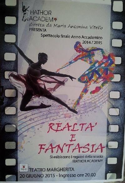 spettacolo realtà e fantasia